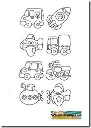 medios de transporte colorear   (4)