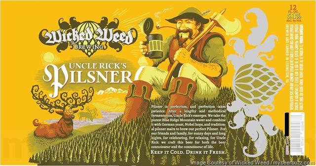 Wicked Weed - Uncle Rick's Pilsner