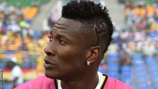 Ghana's football captain has 'unethical haircut' according to UAE laws