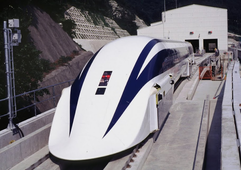 Art print POSTER Canvas TEST OF JAPANESE /'MAGLEV/' ULTRA HIGH SPEED TRAIN