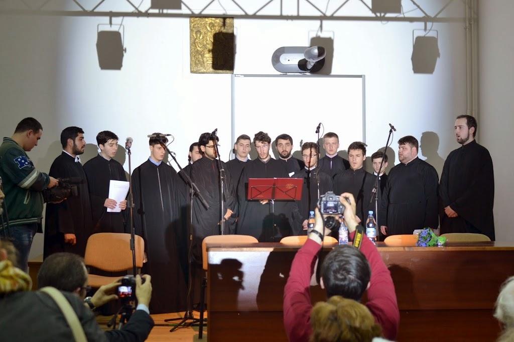 Conferinta Despre martiri cu Dan Puric, FTOUB 002