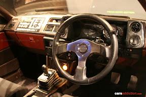 Initial D AE86 Interior