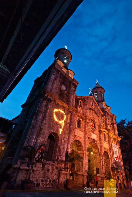 The Towering Facade of Bacolod City's San Sebastian Cathedral