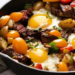 Steak and Egg Hash Recipe