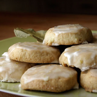 Frosted Coconut Lime Cookies