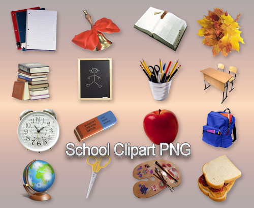 School Clipart PNG