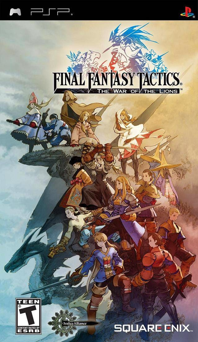 Final Fantasy Tactics: The War of the Lions (USA) PSP ISO