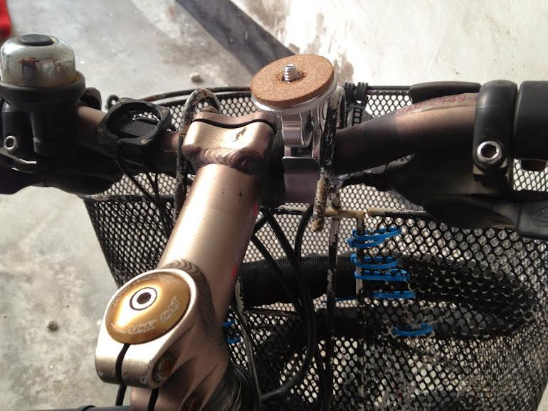 미노우라 vc-100 자전거 핸들바에 장착하는 방법