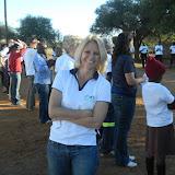 Lisa, the executive director of Tish's NGO, Stepping Stones International