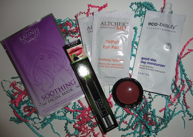 November 2015 Beauty Box Five 1