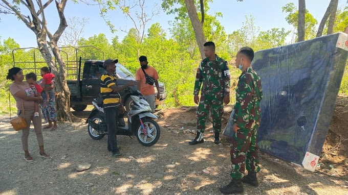 TNI Peduli, Sigap Bantu Korban Kecelakaan