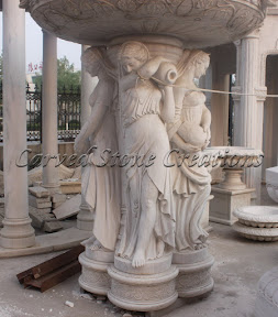 carved stone, Estate, Exterior, Fountain, Fountains, Ideas, Natural Stone, Statuary, Statues, Tiered