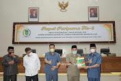 Bupati Inhil Sampaikan Pidato Pengantar LKPJ kepada DPRD
