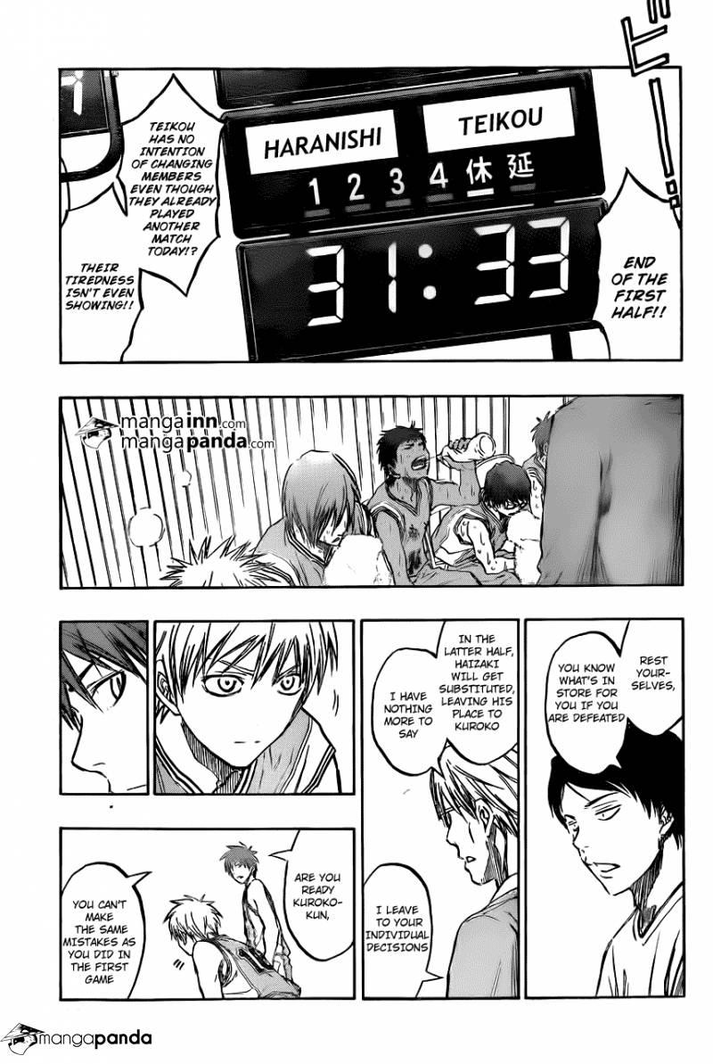 Kuroko no Basket Manga Chapter 209 - Image 13