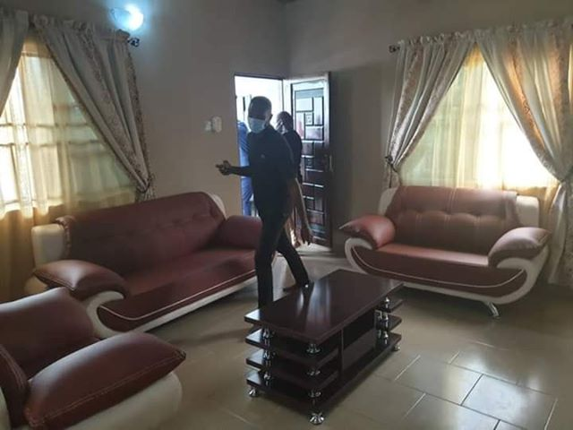 Oforji Oboku Member Representing Yenagoa Constituency 1 Bayelsa State House of Assembly Builds House For Old Woman
