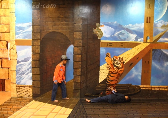 silap mata di Magic Art Museum 3d art museum