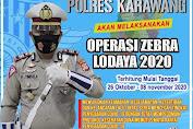 Polres Karawang : Operasi Zebra 2020 Digelar Polisi Mulai Senin Depan