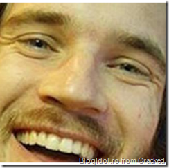 PewDiePie smiling crop