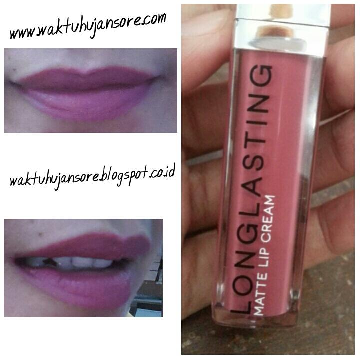Waktu Hujan Sore: Review Lipstik LT Pro Long Lasting Matte