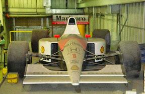 Abandoned Honda Formula1 Car