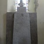 Eglise Saint-Martin : cénotaphe de Monsieur de Malesherbes (Chrétien Guillaume de Lamoignon de Malesherbes)