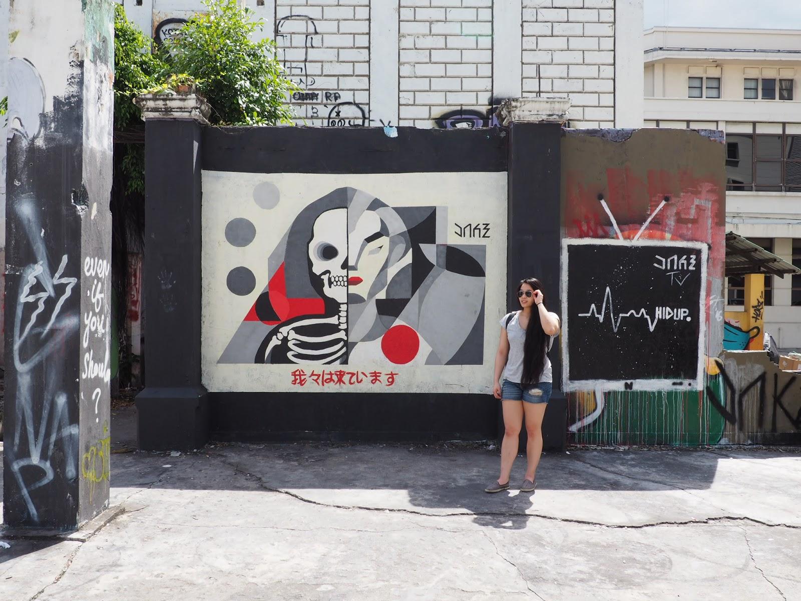 Street art malaysia sabah borneo