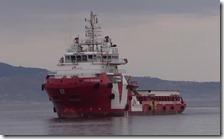 La nave Vos Prudence di Medici Senza Frontiere