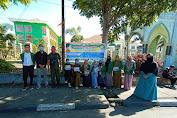 """""""Hari Kartini"""" Mahasiswa IAIN Takengon Bagikan Masker ke Masyarakat"""