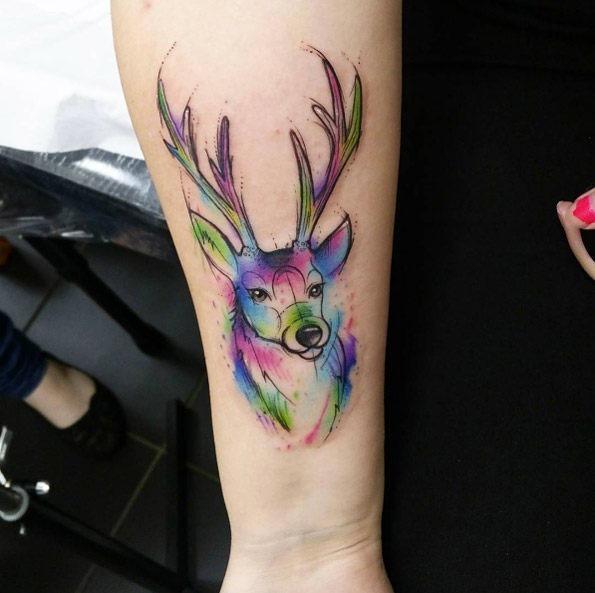 esta_aquarela_veado_tatuagem