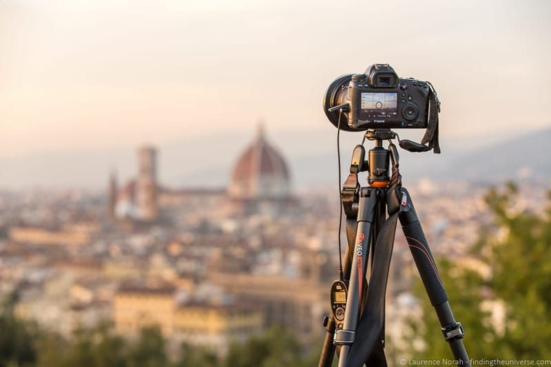 reasons you need a tripod for photography VEO above Florence