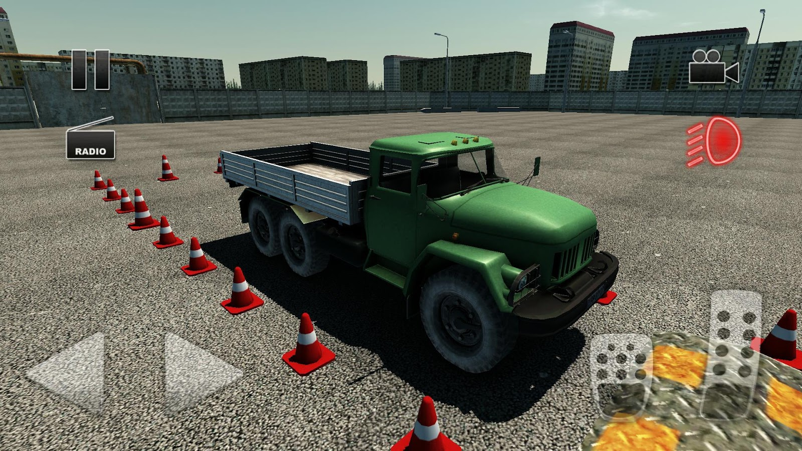 Truck Driver Crazy Road 2- screenshot