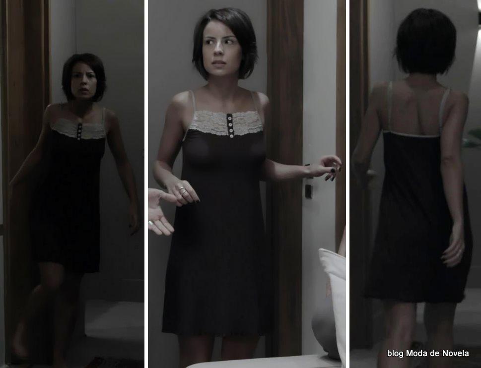 moda da novela Império - look da Maria Clara de camisola dia 25 de agosto