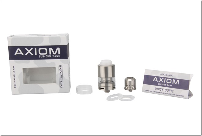 Innokin AXIOM Packaging - Vape Band, RBA, Replacement Orings, Quick Guide. - Imgur