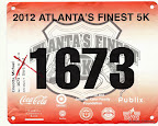 ATC Atlanta's Finest 5K, Mike's race bib