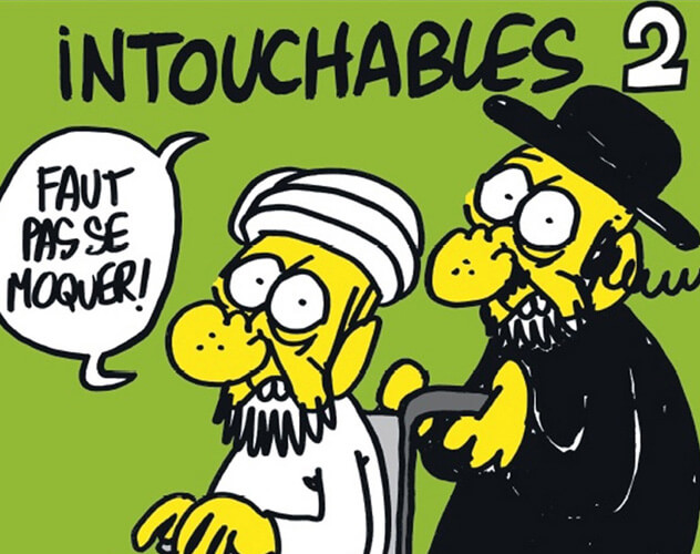 Intouchables 2 -Charlie Hebdo