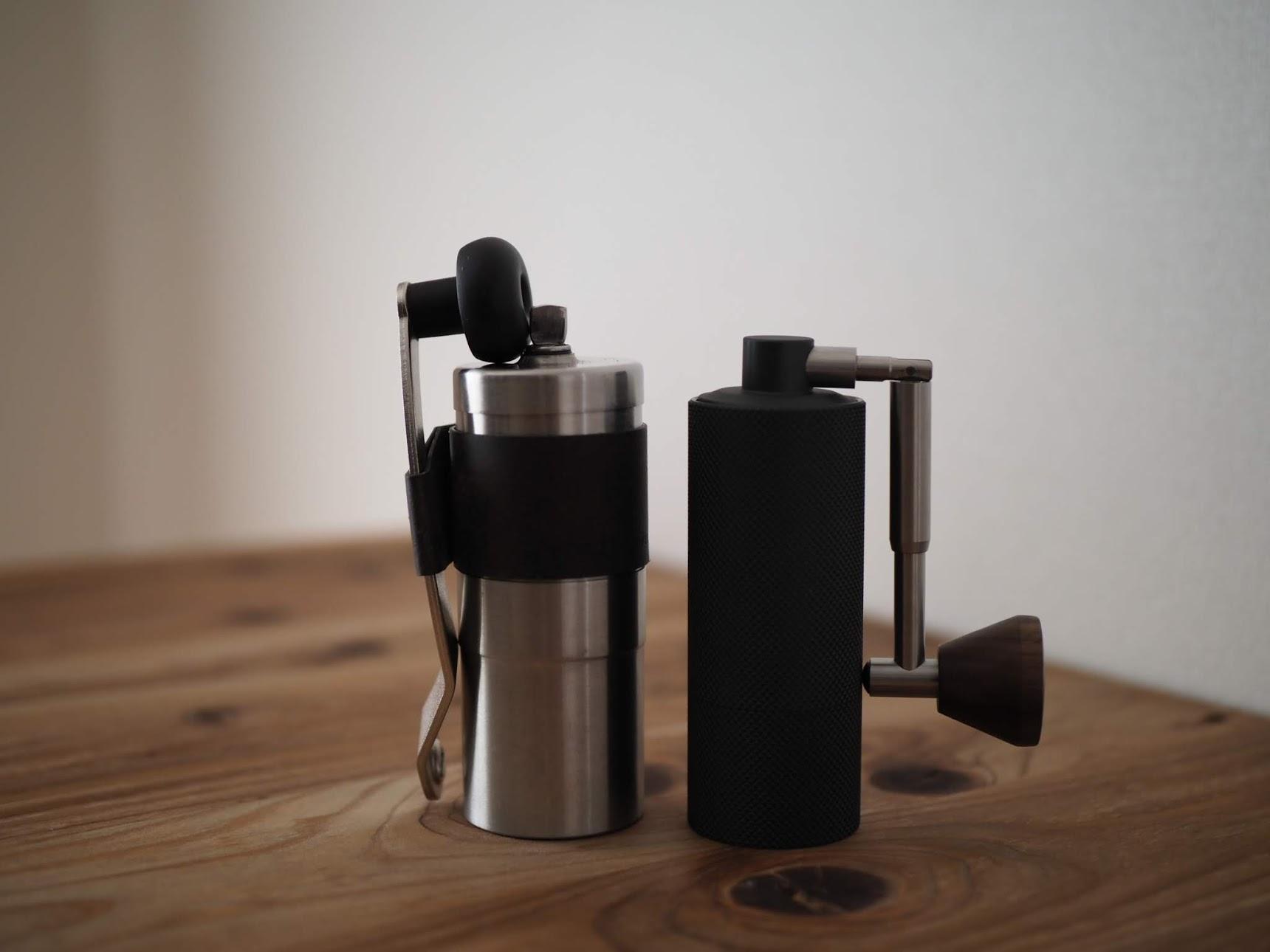 ポーレックスコーヒーミルとの大きさ比較