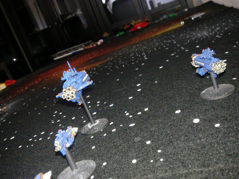 [Navy vs Chaos] Chaos Vs Imperium 1000pts BFG%2525201er%252520bataille%252520003