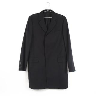 Gucci Black Wool Overcoat