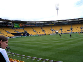 New Zealand - Wellington - Cricket - NZ vs. AU