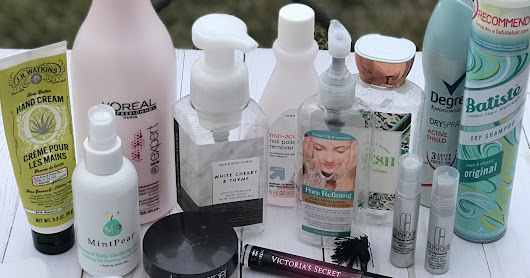 beauty time Thursday-January empties
