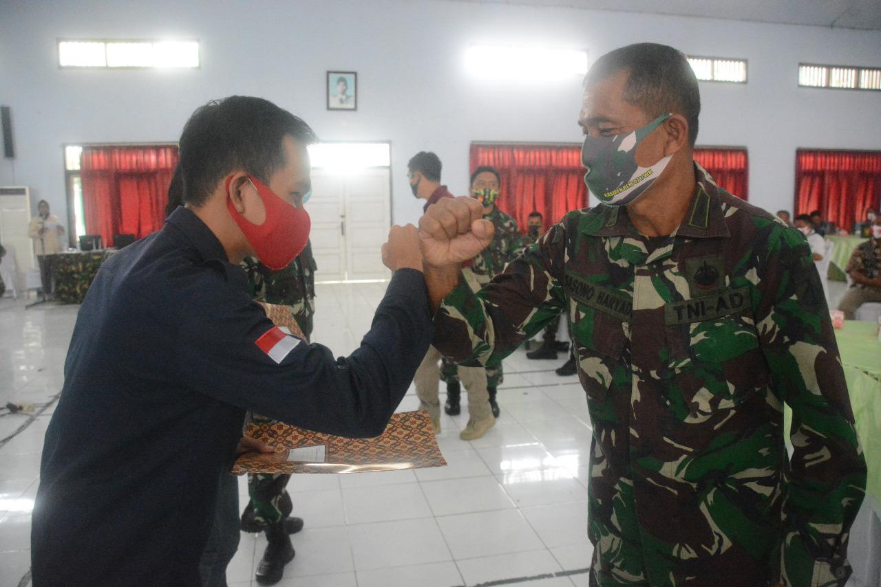 Cegah Konflik Sosial di Masyarakat, Korem 071/Wijayakusuma Gelar Binkom AGHT