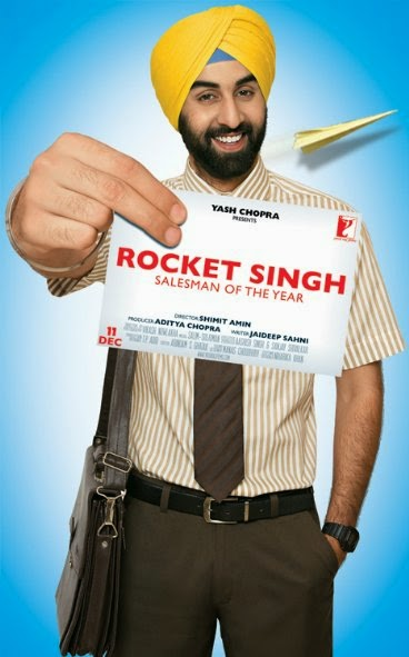 Poster Of Hindi Movie Rocket Singh: Salesman of the Year (2009) Free Download Full New Hindi Movie Watch Online At alldownloads4u.com
