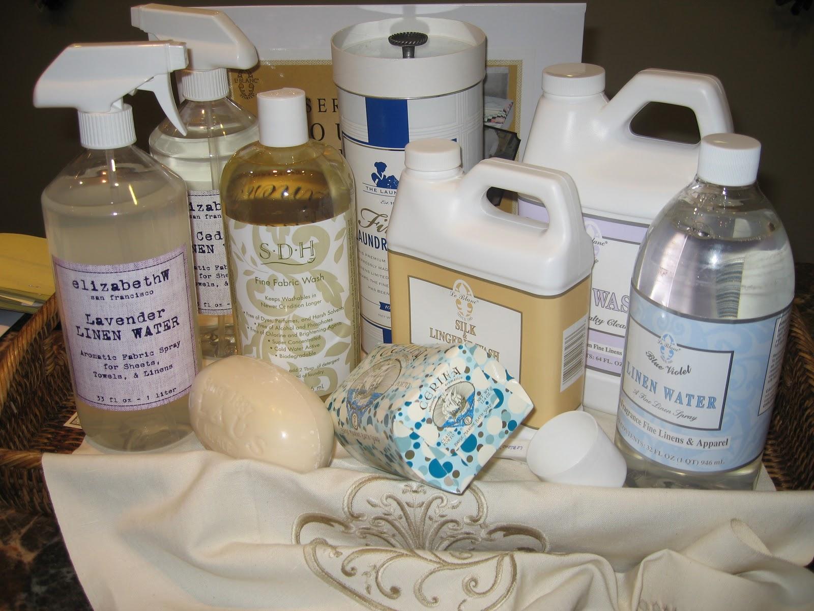 Fino Lino: Washing Fine Linens