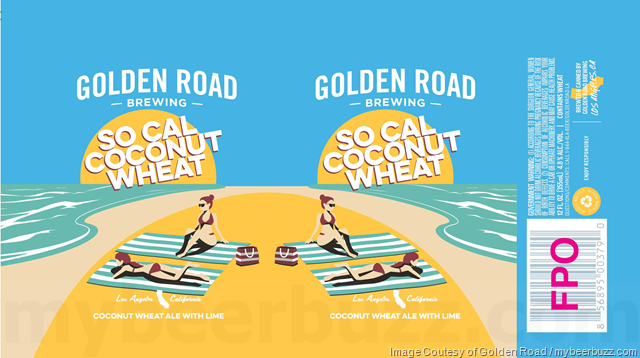 Golden Road - So Cal Coconut Wheat, 329 Days Of Sun