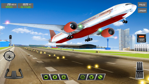 Extreme Airplane simulator 2019 Pilot Flight games 3.9 screenshots 1
