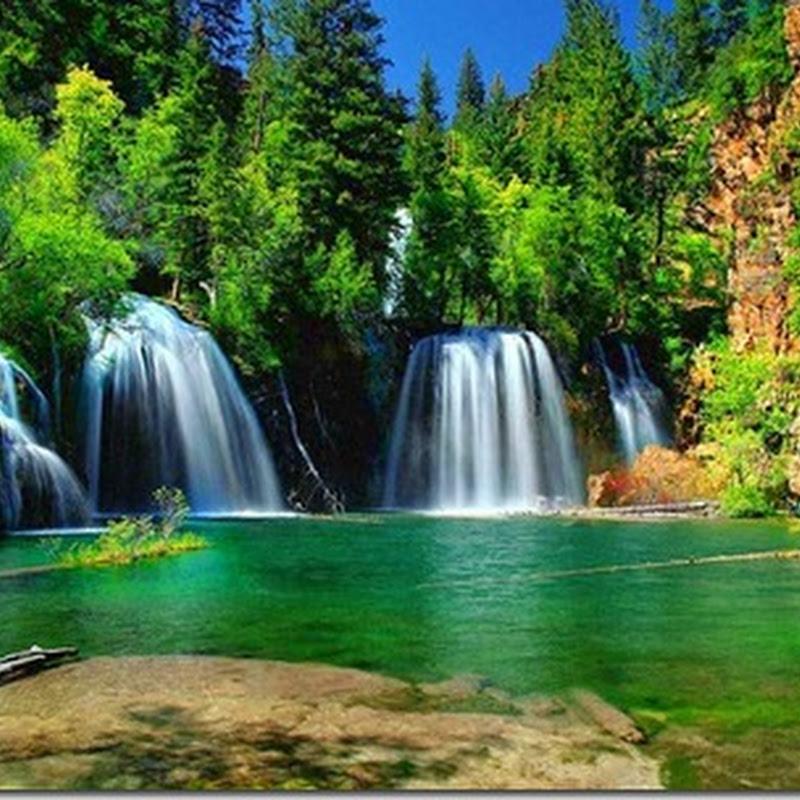 Imágenes de cascadas, cataratas y naturaleza