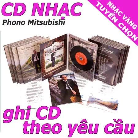 ghi cd nhac vang chat luong cao
