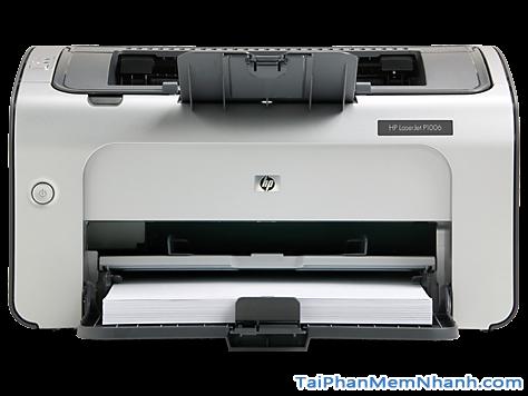 Tải phần mềm cài đặt driver máy in Hp Laserjet p1006