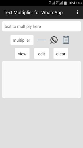 Text Multiplier For WhatsApp