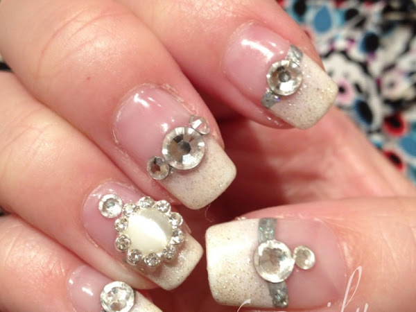 Day 252 - Bridal Nails